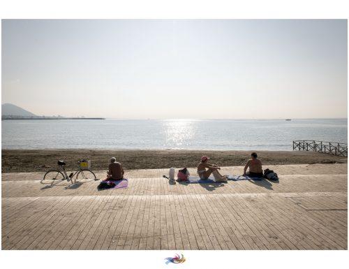 #Autumn in #Salerno #bathers #sunnyday #sun